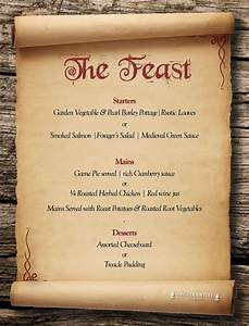 Tudor menu template 28 images tudor menu template for Tudor menu template