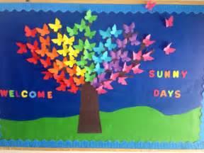 School Spring Bulletin Board Ideas
