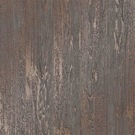 love wallpaper metallic plank wallpaper brown ilw