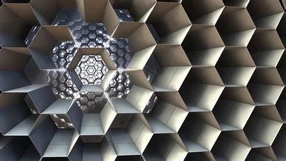 Honeycomb Structure Cell 3d Fractal Cellular Fhd
