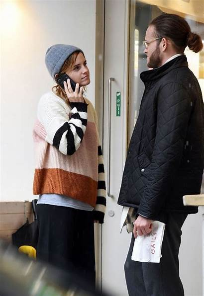 Watson Emma Leo Robinton Boyfriend Kissing London