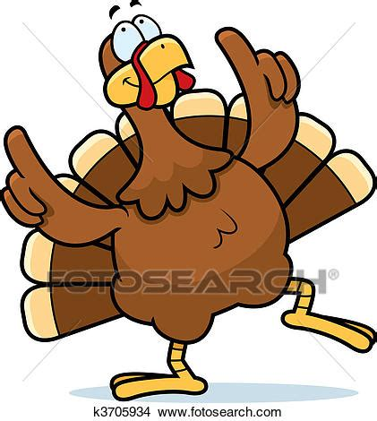 clipart  turkey dancing  search clip art