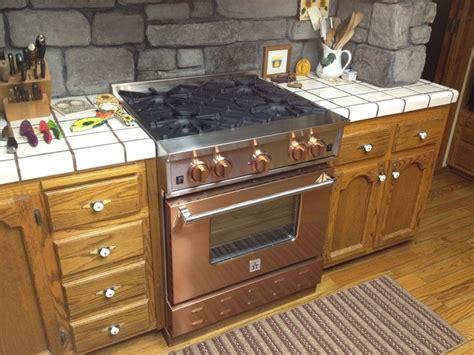 Bluestar Copper 30'' Gas Range Available At Wwwidlersnet