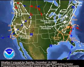 Current National Weather Map Forecast