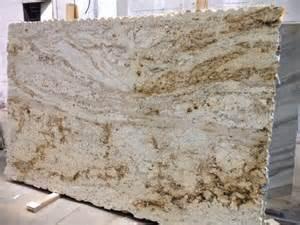 Cream and Brown Granite Countertops