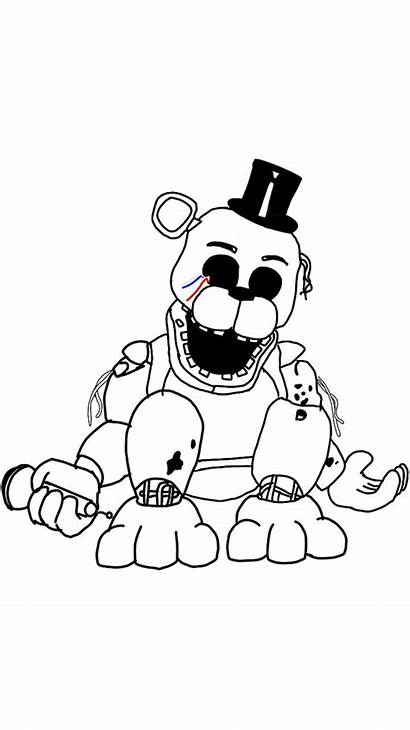Freddy Fnaf Golden Drawing Nights Pages Five