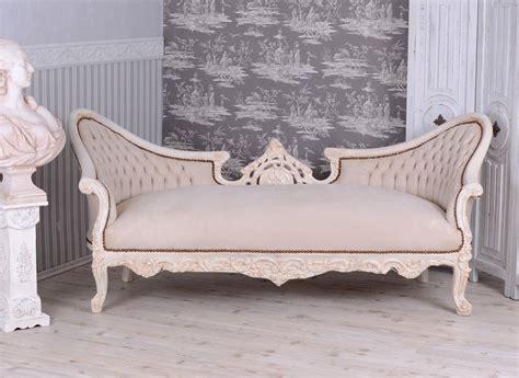 Gigantisches Salon Sofa Barock Couch Sitzbank Shabby Chic
