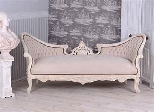 Barock Sofa Weiß : gigantisches salon sofa barock couch sitzbank shabby chic weiss eur 799 00 picclick de ~ Frokenaadalensverden.com Haus und Dekorationen