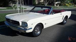 1965 Ford Mustang Convertible 289 V8 AUTO -- MINT Condition Fully Restored Car