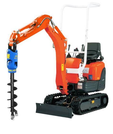 auger torgue earth drill mini excavators kg