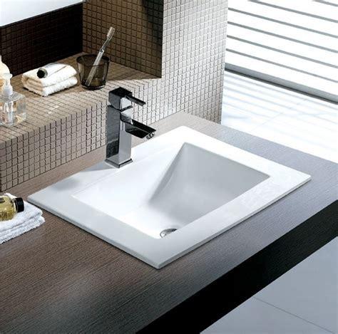 Bathroom Sinks Rectangular Deinestadt Life Throughout Top