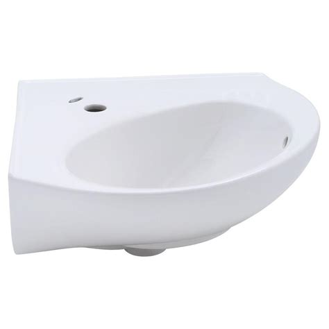 home depot wall mount sink american standard cornice corner wall mount bathroom sink