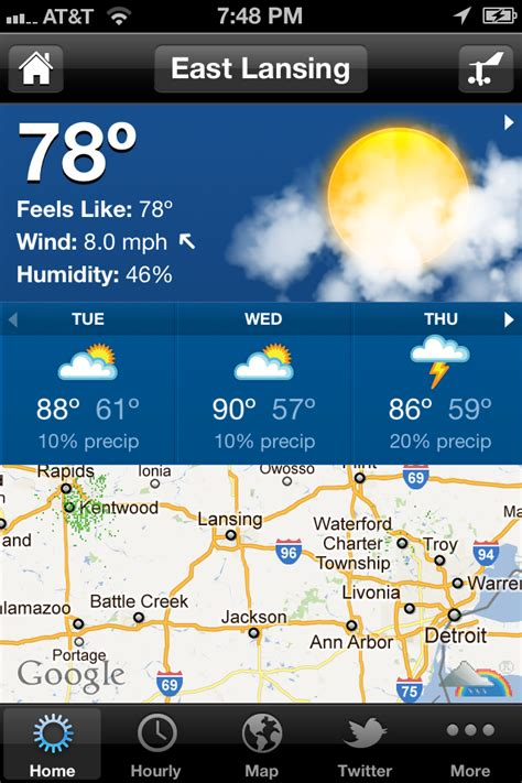 weather apps for iphone weather channel app for iphone fast android ru