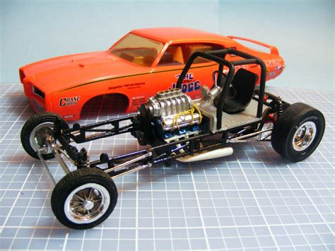Mpc The Super Judge Funny Car Chassis.