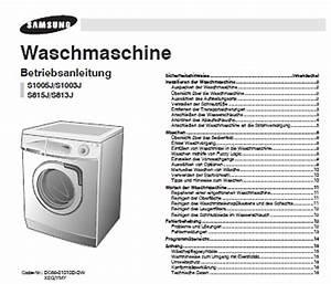 Symbole Auf Waschmaschine : waschmaschine bedienungsanleitung haushaltsger te ~ Markanthonyermac.com Haus und Dekorationen