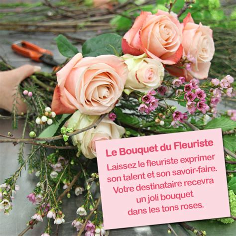 Bouquet Talent Du Fleuriste Dans Les Tons Roses
