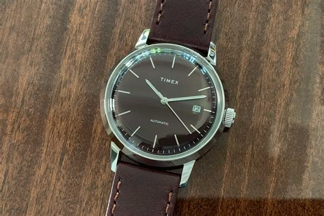 review timex marlin automatic an affordable casual timex with vintage touch specs price