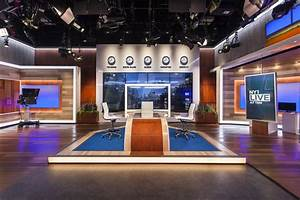 NY1 Studio A Broadcast Set Design Gallery