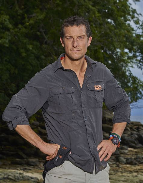 grylls grills dehydrated contestants prompt grylls to almost drop