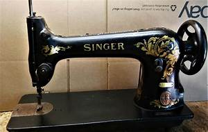 This Is A Nice Old Singer Sewing Machine  The 31