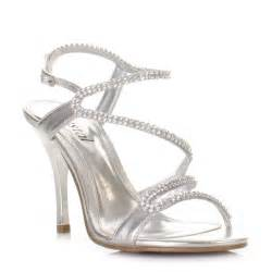 wedding shoes sandals womens strappy diamante prom wedding sandals shoes bridal size 3 8 ebay