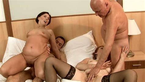 Mature Sluts Get Fucked Hard In Hot Group Sex Video