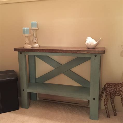 mini console table    home projects  ana