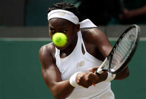 Paris — it was the first grand slam singles quarterfinal match for both coco gauff and barbora krejcikova and, frankly, you could tell. 15-year-old Coco Gauff's remarkable run at Wimbledon ends ...