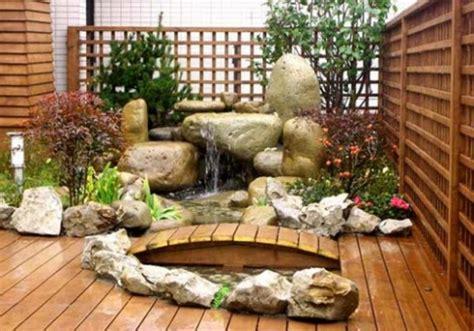 le mini jardin japonais serenite  style exotique