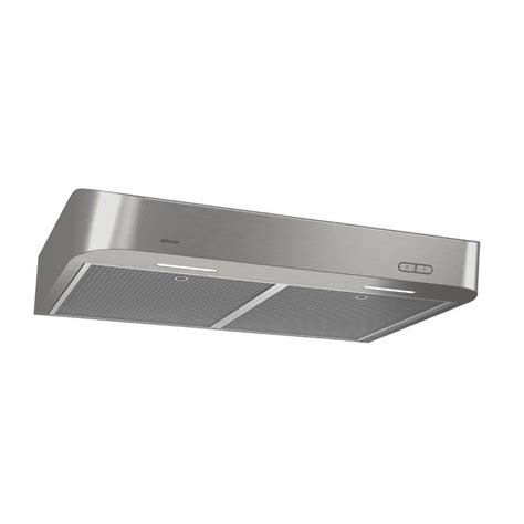 under cabinet vent hood installation shop broan undercabinet range hood stainless common 30