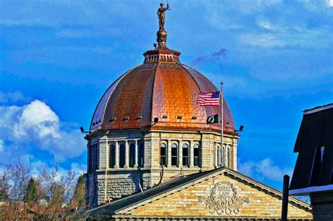 cupola structure expert crew is called in for copper roof restoration