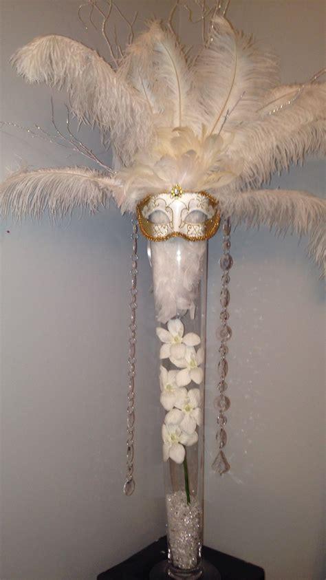 Diy Masquerade Centerpiece Masquerade Ball Pinterest