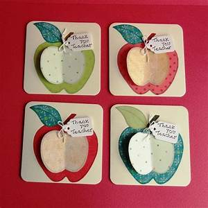 Thank You Teacher Apple Cards | Kids Craft Ideas ...