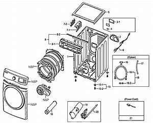 Cabinet Parts Diagram  U0026 Parts List For Model Dv520agwxaa