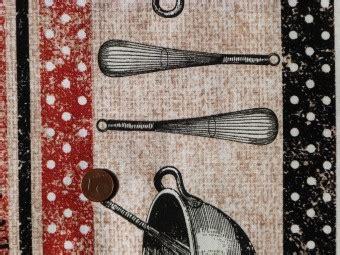 tissus cuisine tissu patchwork motifs quot cuisine quot et quot bon appé quot