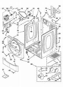 Kenmore Model 11087562602 Residential Dryer Genuine Parts