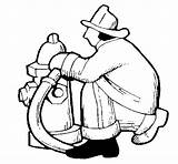 Coloring Fire Hydrant Firefighter Pages Clipart Shamu Suburban Template Colorear Coloringcrew Library sketch template