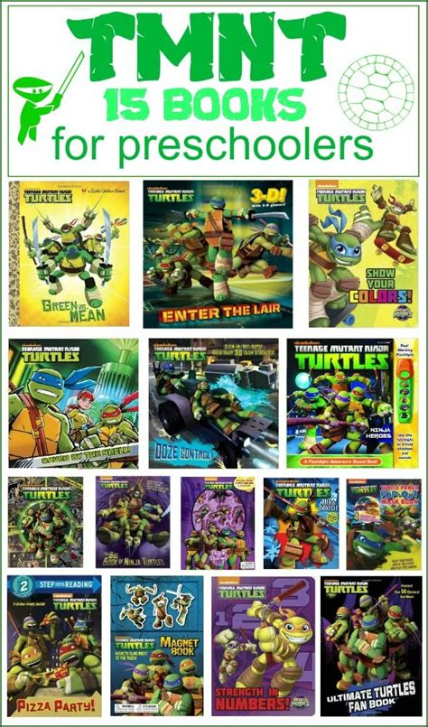 mutant turtles books for preschoolers 728 | TMNTCollage zps7046427d
