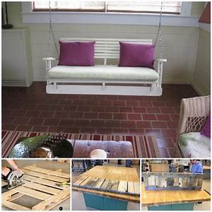 20 the most easiest diy pallet furniture tutorials that With homemade furniture tutorials