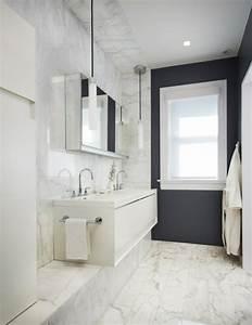 Marmor Im Bad : gebadet in farbe wann verwendet man schwarz im badezimmer ~ Frokenaadalensverden.com Haus und Dekorationen