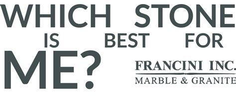 which is best for me granite boise francini