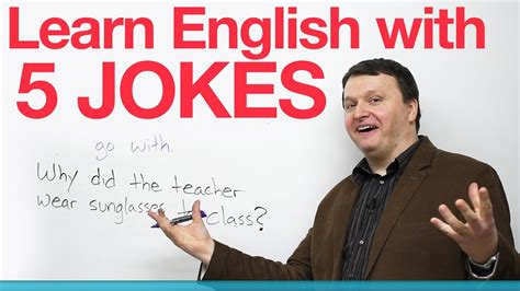 Learn English With 5 Jokes · Engvid