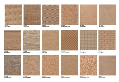 embossed mdf wall panel wood mdf texture style