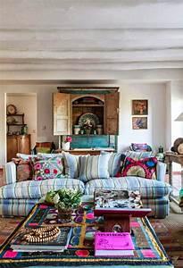 Adding Visual Interest to a Sofa | Boho decor, Hippie ...