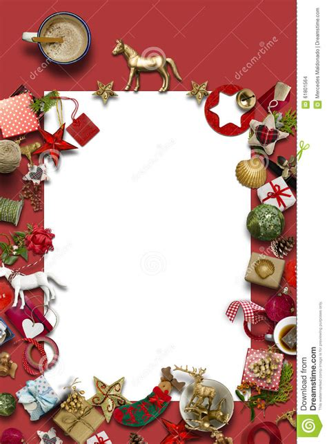 empty christmas card collection gifts and decorative