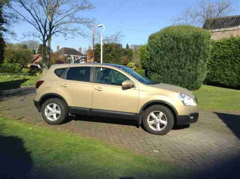 gold nissan car nissan 2007 qashqai acenta 2wd cvt gold car for sale