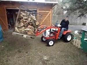 Mini Traktor Mit Frontlader : simplicity rasentraktor mit frontlader und schnellwechsler ~ Kayakingforconservation.com Haus und Dekorationen