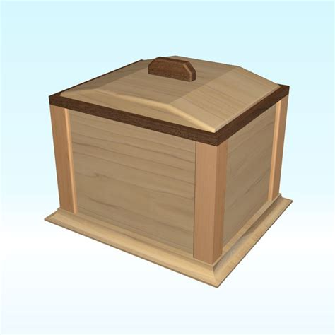 images  wooden cremation urn  pinterest traditional ash  woodworking plans