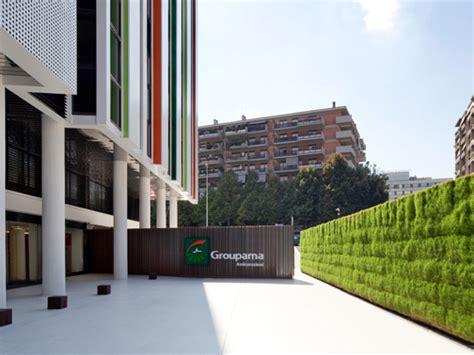groupama sede verde profilo per la sede centrale di groupama
