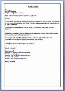 writing a cover letter for a job With cover letter for electronics and communication engineer fresher
